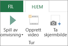 Alternativet Spill av omvisning av 3D-kart
