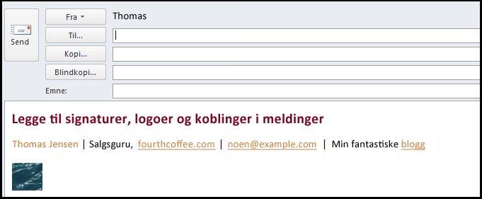 e-postmelding med elektronisk signatur
