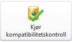 Knappen Kjør kompatibilitetskontroll i Backstage-visningen i Access