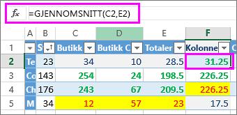 Du må justere referansene når du bruker formler som er limt inn.