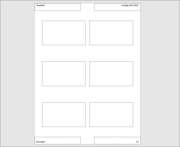 Viser Støttearkmal i PowerPoint