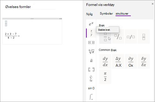 Velg strukturer, og velg deretter en kategori for å bla gjennom tilgjengelige matematikk strukturer.