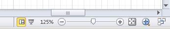Bruke verktøyene på statuslinjen til å navigere i et diagram