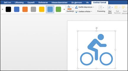 Stil galleriet med en lys blå stil brukt på et bilde av en sykkel