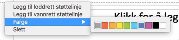 Bruke flerfargede brukerhåndbøker for å lage den perfekte presentasjonen.
