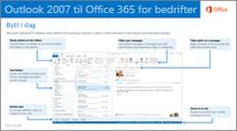Miniatyrbilde for veiledning for å bytte fra Outlook 2007 til Office 365