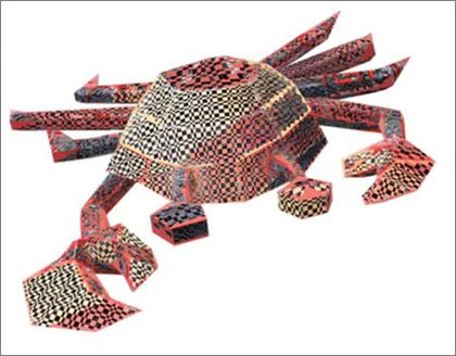 Hvis 3D-modellene har et rart sjakkbrettlignende mønster, kan du oppdatere grafikkdriveren.