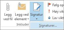 Signatur-kommandoen