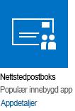 App for områdepostboks
