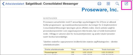 PDF-markeringsverktøy