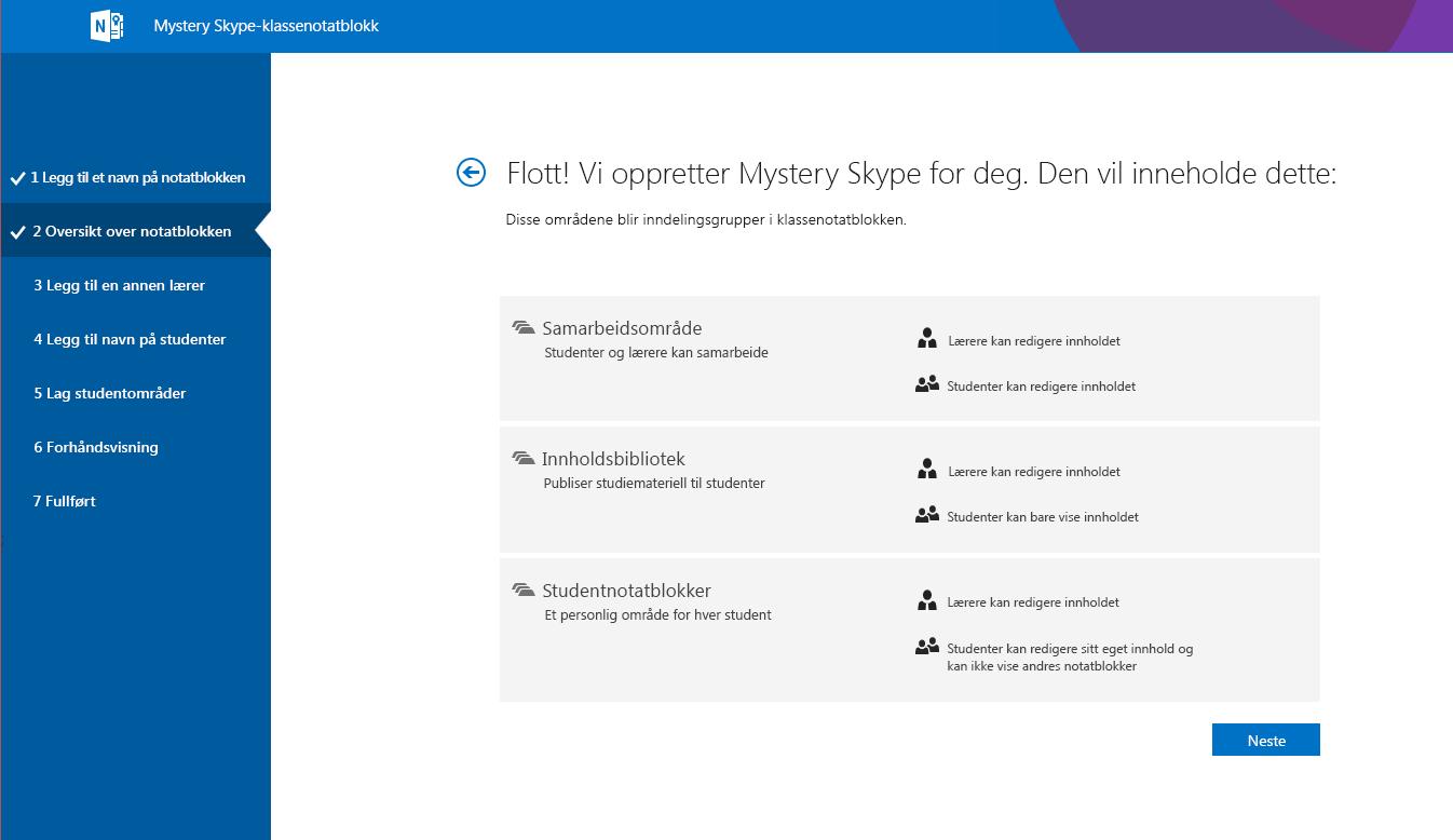 Oversikt over Mystery Skype