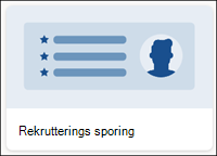 Mal for liste over rekrutterings sporing