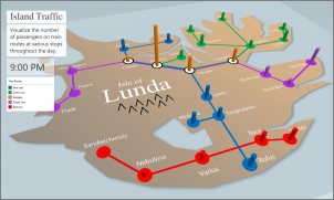 Bilde av et egendefinert kart