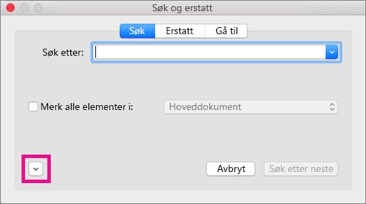 Viser hvordan du åpner hurtigmenyen for Format