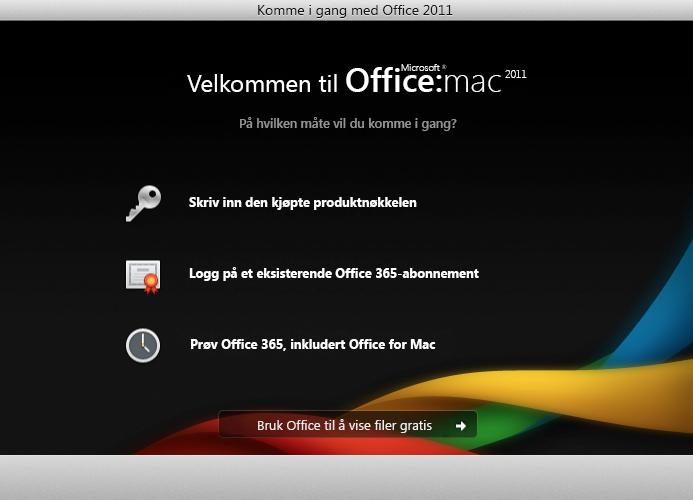 Logg deg på et eksisterende Office 365-abonnement