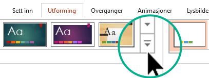 Klikk på Mer-knappen