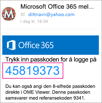 OME Viewer med Yahoo 4