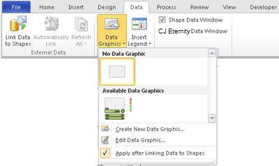 Velg Ingen datagrafikk for å fjerne et datasymbol fra figuren.