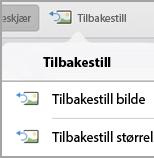 Tilbakestill
