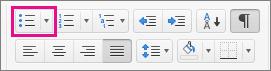 Punktmerking-ikonet er uthevet på Hjem-fanen.