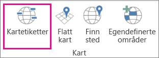 Alternativet Kartetiketter for 3D-kart