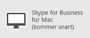 Skype for Business – Mac