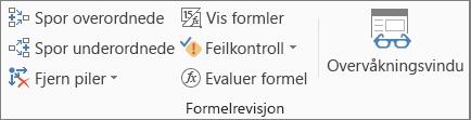 Formelrevisjon-gruppen på Formel-fanen