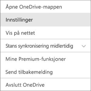 Aktivitetssenteret i OneDrive for Mac
