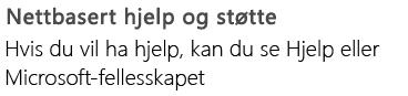 """""""Elektronisk hjelp og støtte"""" for PowerPoint på en Android-telefon"""