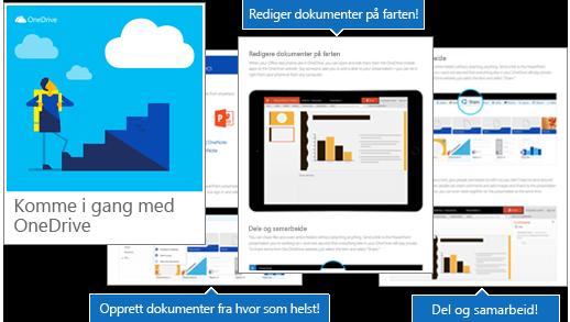 Komme i gang med OneDrive-e-bok