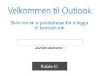 Legge til en ny e-postkonto