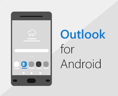 Klikk for å konfigurere Outlook for Android