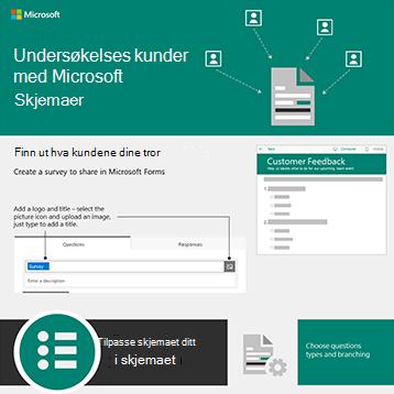 Et skjema dokument med piler som peker fra flere bruker symboler
