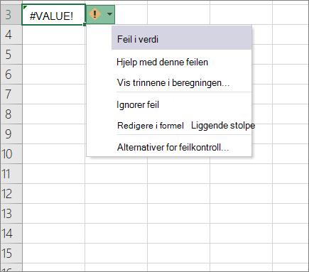 Rulle gardin liste vises ved siden av sporings verdi ikonet