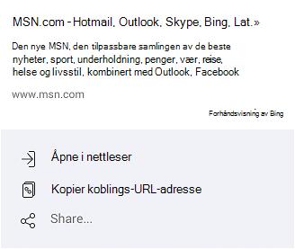 Måter å åpne MSN.com på