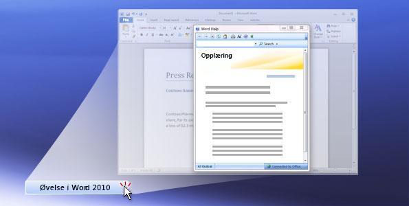 Øvelse i Word 2010