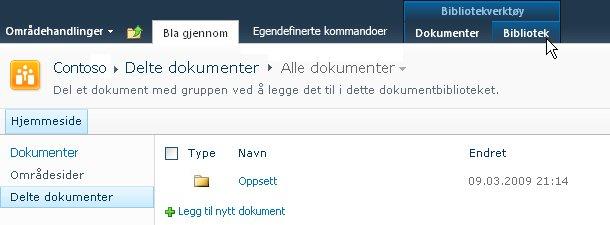 Kategorien Bibliotek under Bibliotekverktøy