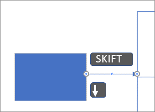Flytte en kobling etter piksel