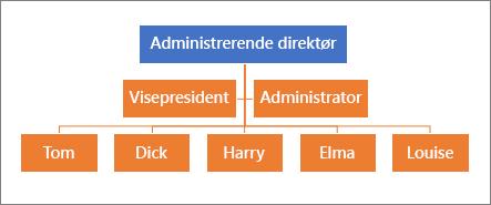 Et vanlig hierarki