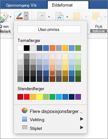 Klikk bilde omriss ikonet