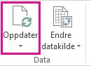 Oppdater-knappen på fanen Analyser