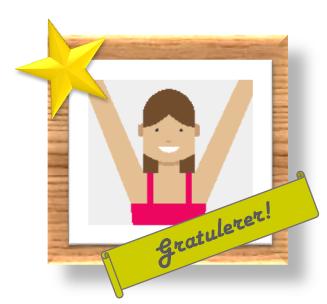 Gratulerer!