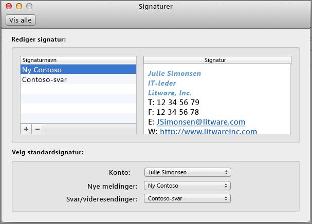Signaturer-dialog