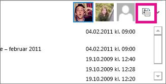 Klikk veksleknappen for å se større bilder