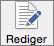 Rediger-knappen i Word-innstillinger