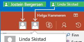 Samarbeid i sanntid med PowerPoint for Android