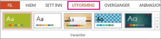 Temagalleri i kategorien Utforming