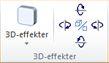 WordArt 3D-effektergruppe i Publisher 2010