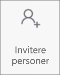 Invitere personer-knappen i OneDrive for Android