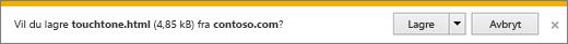 Spørsmål om nedlasting av Internet Explorer